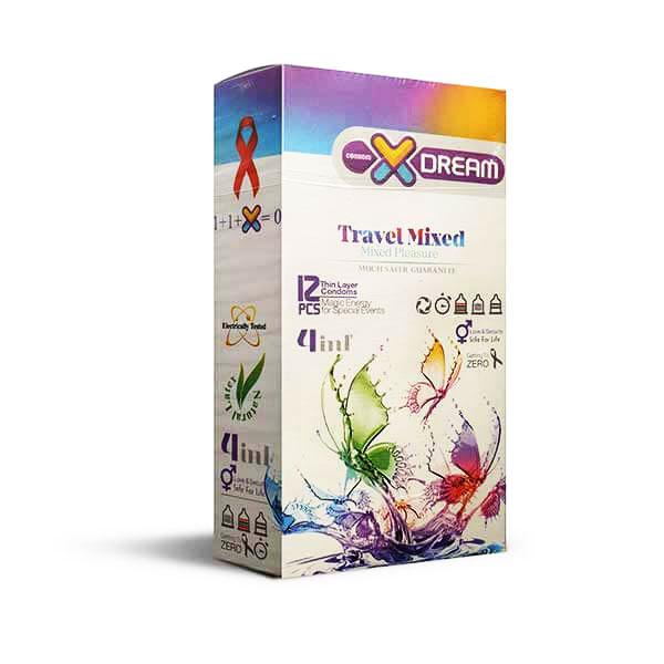 کاندوم میوه ای X-DREAM travel mixed